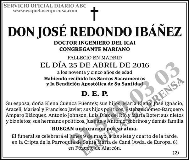 José Redondo Ibáñez